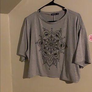 Mandala style crop top